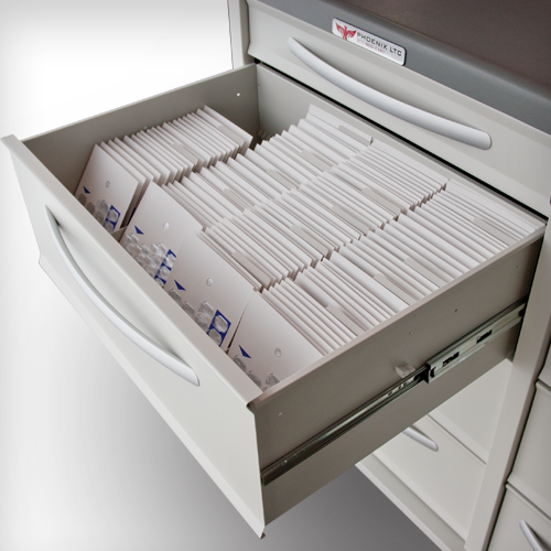 Phoenix LTC Drawer Punch Cards