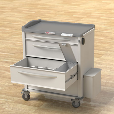 Phoenix Series Med Cart Security Options