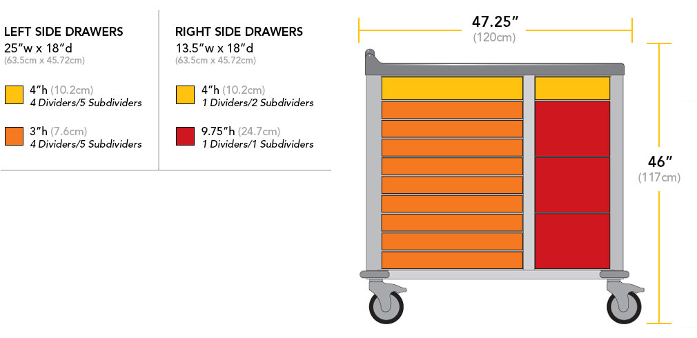 378 Drawer Dimensions
