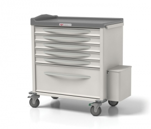 Phoenix Series Punch Card Med Carts