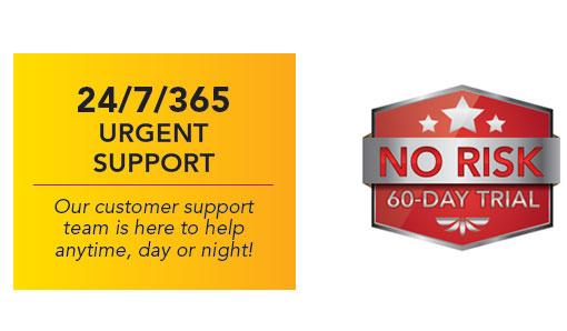 24-7-365 Urgent Support