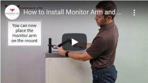 Install Monitor Arm