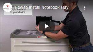 Install Notebook Tray