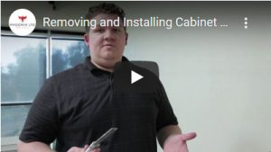 Removing and Installing Cabinet