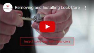 Remove and Install Lock Core