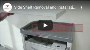 Side Shelf Removal
